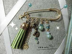 眼鏡ピン_green