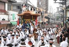 岸和田だんじり祭開催へ 感染防止策を提出 大阪府岸和田市