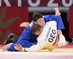 ウルフ・アロンが柔道男子100キロ級金メダル! 同級制覇は井上康生以来21年ぶり 柔道3冠達成