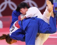 浜田尚里が金 日本勢4大会ぶり 柔道女子78キロ級