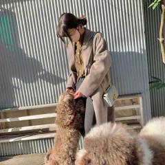 Cocomi、愛犬との散歩にマナー違反を指摘する声「散歩用具はないの?」