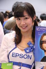シーテックジャパンコンパニオン2014キャンギャル