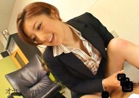 逆レイプ、羽田あい!美人女社長がセクハラ、オフィスで馬乗り騎乗位・・・