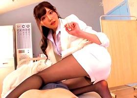 パンスト挑発、橋本ありな!保健室で肉食女教師がミニスカの美脚で誘惑・・・