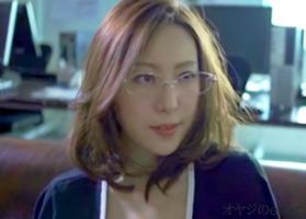 メガネ熟女、松下紗栄子!女上司の巨乳乳首にむしゃぶりつきパイパンの・・・