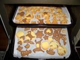 クッキーやけた