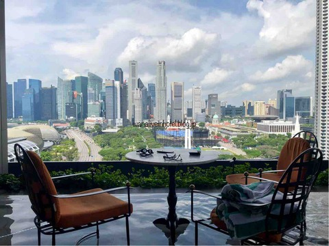 JW Marriott シンガポール プール