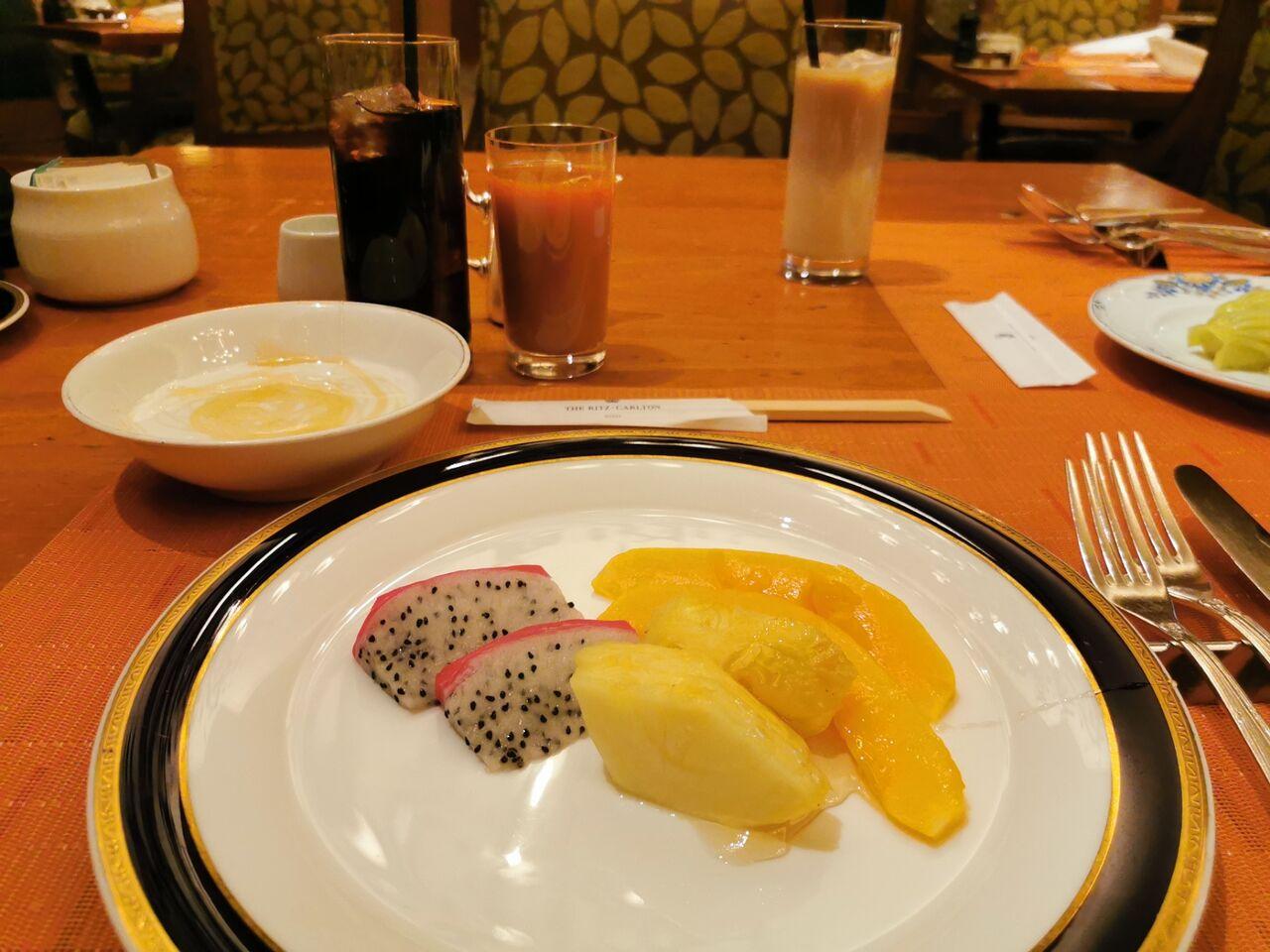 リッツ カールトン 大阪 朝食