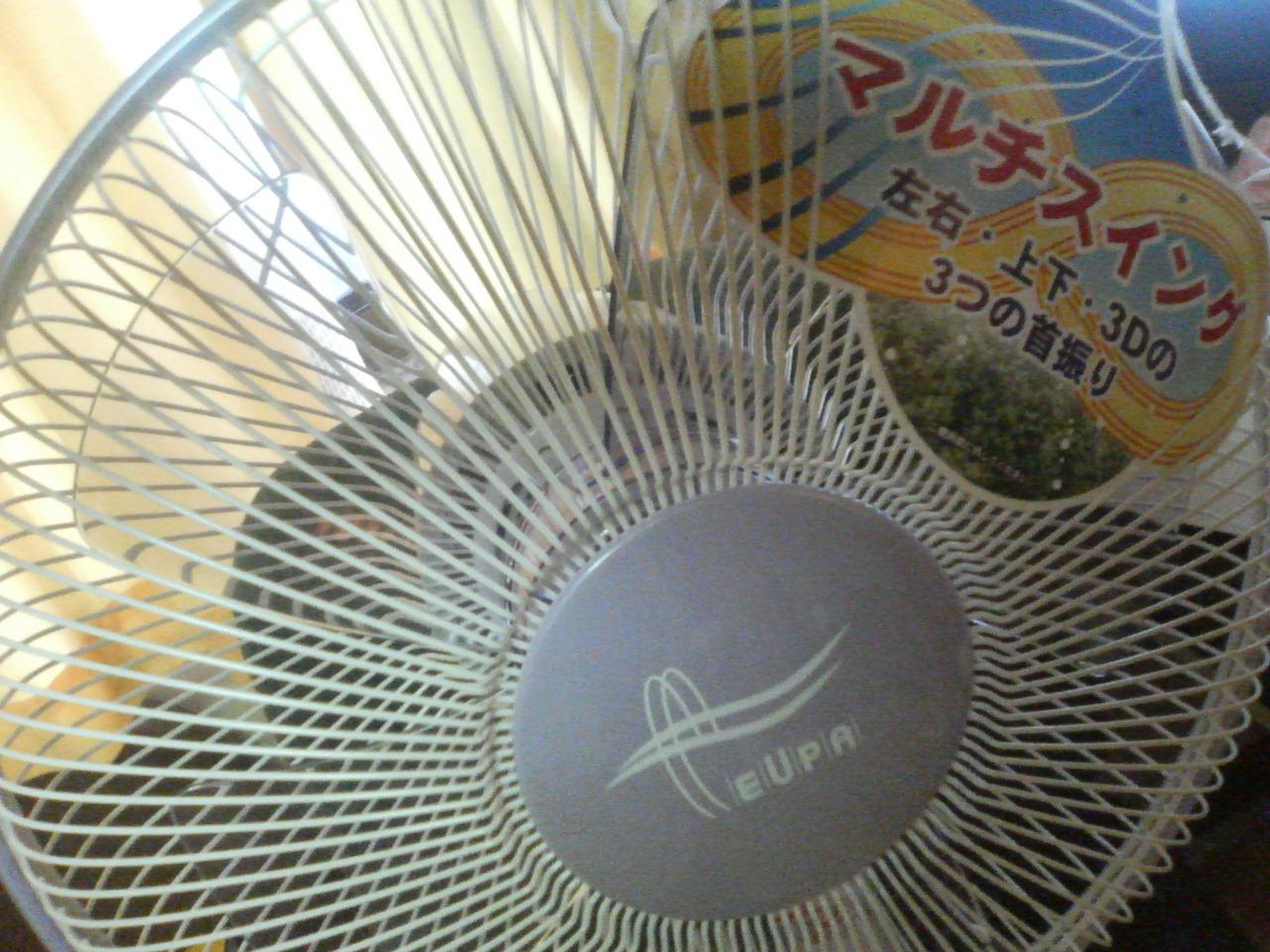 扇風機NEW
