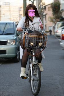 華ちゃん自転車