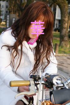 自転車華ちゃん