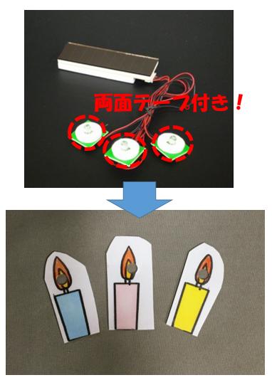 ソーラーKIRARI3灯装着3