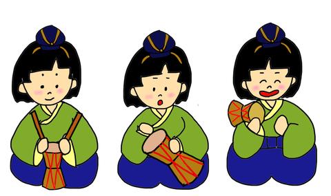 5人囃子①