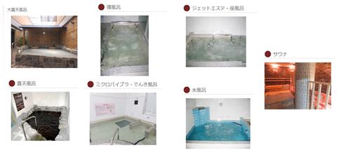 7つのお風呂