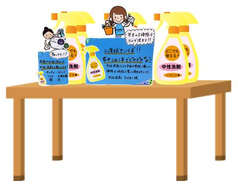 中性洗剤コーナー