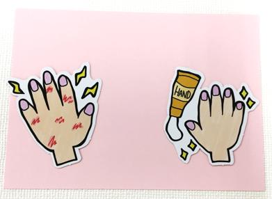 手のパーツ