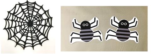 クモの巣とクモ