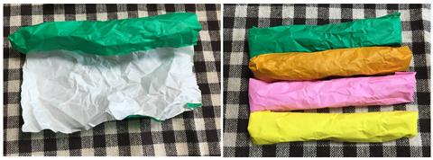 折り紙で具作り