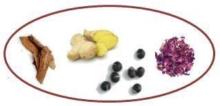 b生姜 黒豆