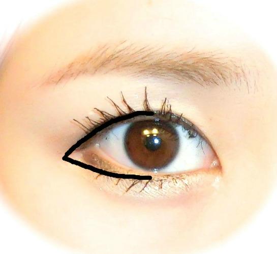 目 メイク 大きく 化粧方法