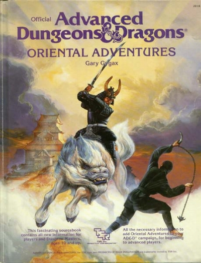 Oriental Adventures Rulebookb