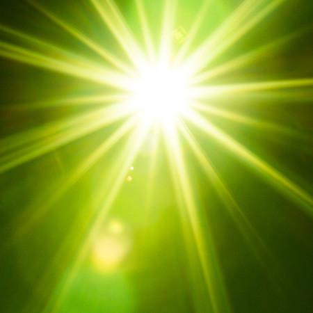 太陽みたいな光
