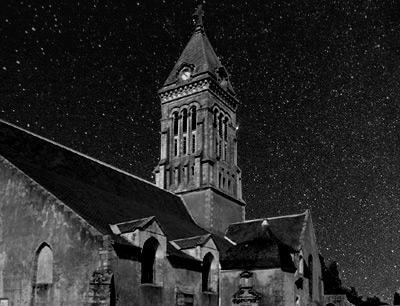 夜の教会1
