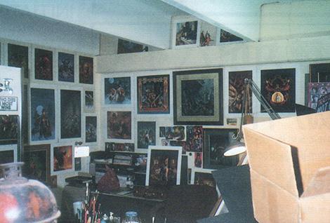 TSRデザイン室の一部