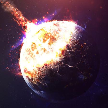 地球似の星が撃墜
