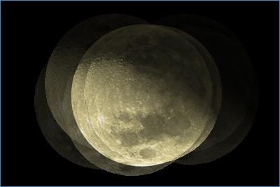 ゆれる月(縦横無尽)