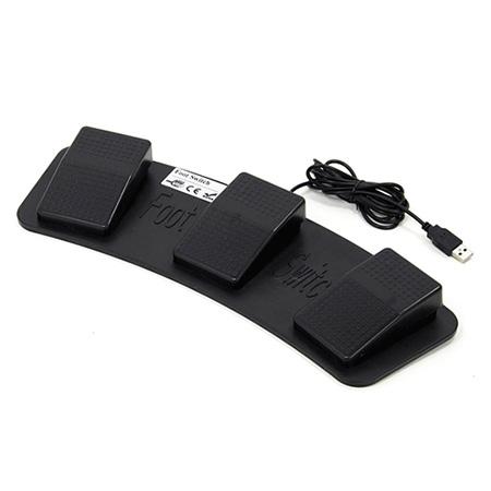 USB3連フットペダルスイッチ