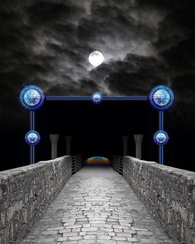 橋の魔法と極太M