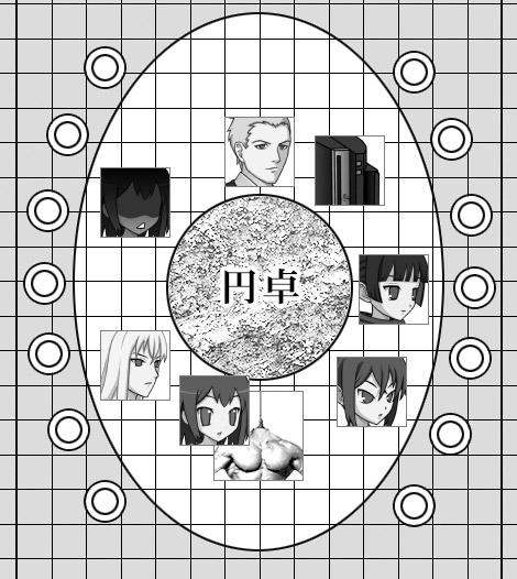 円卓フロア04