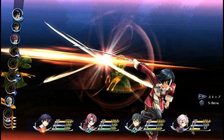 閃の軌跡 戦闘d
