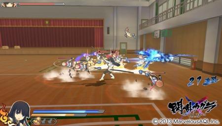 閃乱カグラ 戦闘 (1)