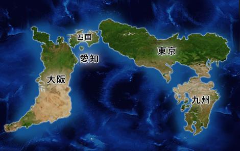 世界地図(元ネタ)