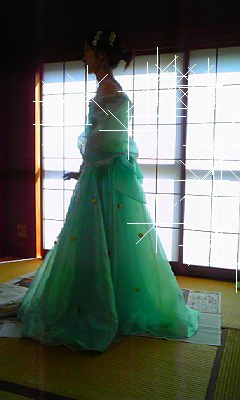 ウェディングドレス♪
