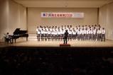 川崎市の麻生区での音楽祭で指揮をする徳山