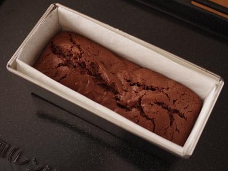 チョコレートのパウンドケーキ05