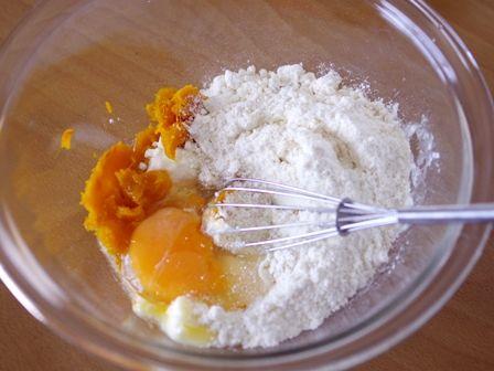 ホットケーキミックスでつくる簡単まるごとかぼちゃのもこもこケーキ01