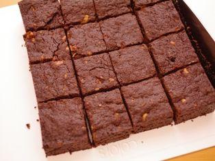 クルミのチョコレートブラウニー09