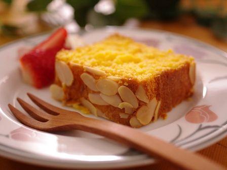 にんじんパウンドで野菜ケーキ