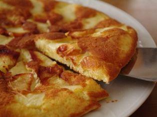 りんごのフライパンケーキ03