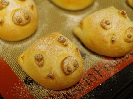簡単手作り手ごね辰パン