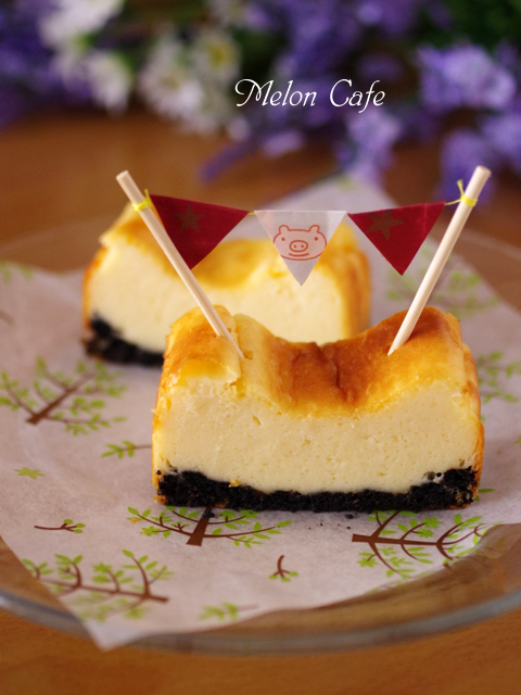 HMk簡単手軽なベイクドチーズケーキ