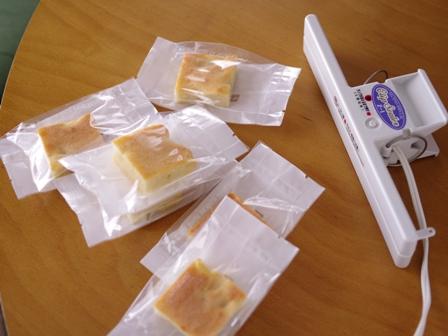 りんごの簡単スクエアケーキ09
