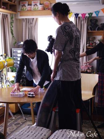 めろんカフェ2016レシピブログ様企画撮影の様子01