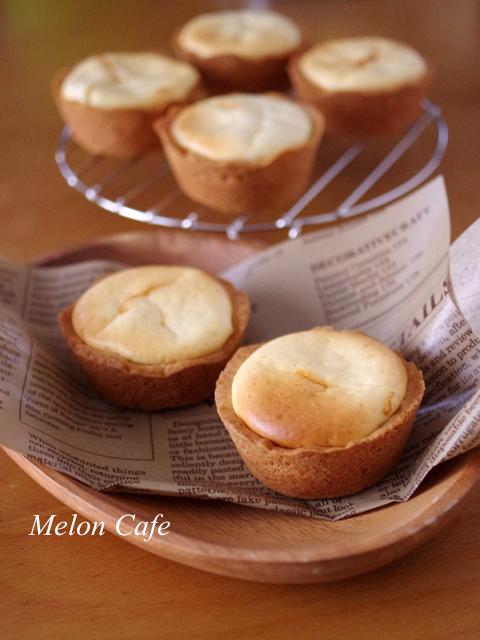 ホットケーキミックスで簡単クリームチーズタルト