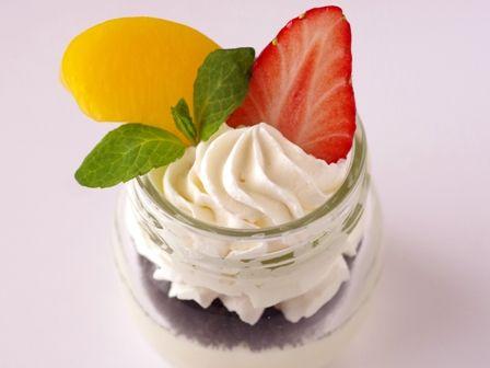 はちみつ豆乳クリームチーズのジャーケーキ03