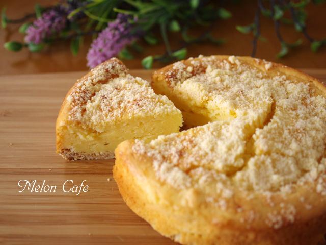 ホットケーキミックスで簡単本格ベイクドチーズケーキ06